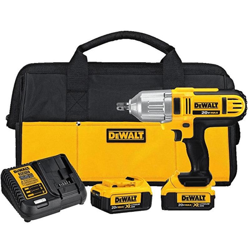DEWALT 20V MAX XR Impact Wrench Kit
